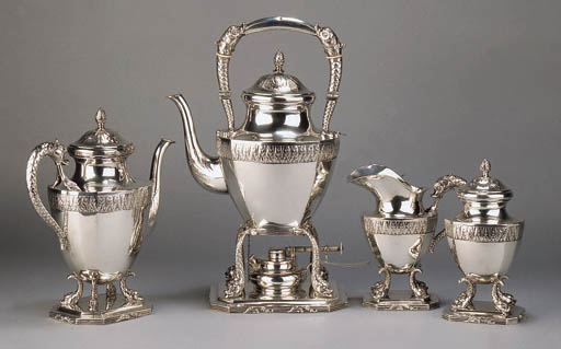 A fine German coffee-set