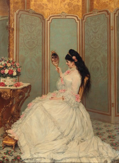 Jules Emile Saintin (French, 1