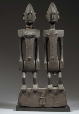 A FINE AND RARE DOGON PAIR