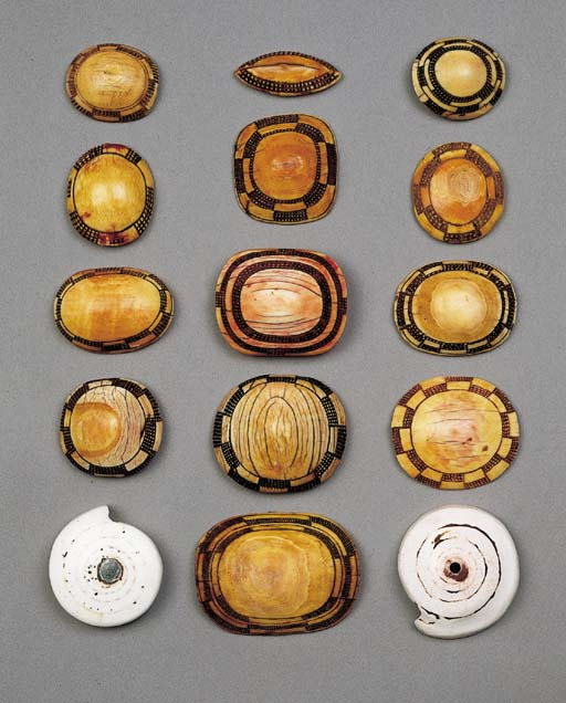 FIFTEEN OVAMBO ORNAMENTS