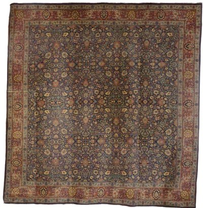 An antique Jaffar Tabriz carpe