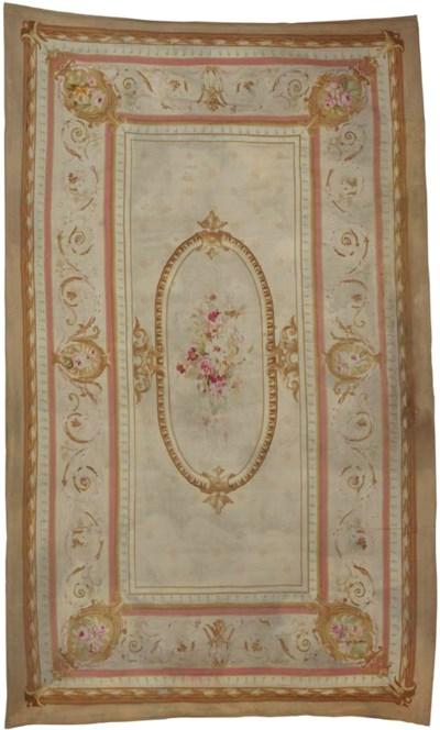 A fine Aubusson carpet