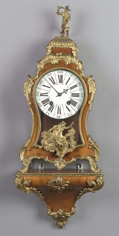 A Louis XV ormolu-mounted waln