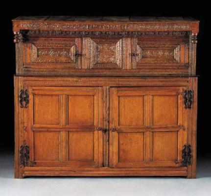 A Yorkshire oak cupboard