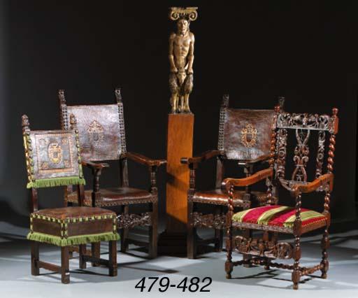 A pair of South European chair