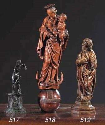 A bronze figure of Venus after