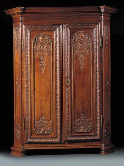A French oak armoire