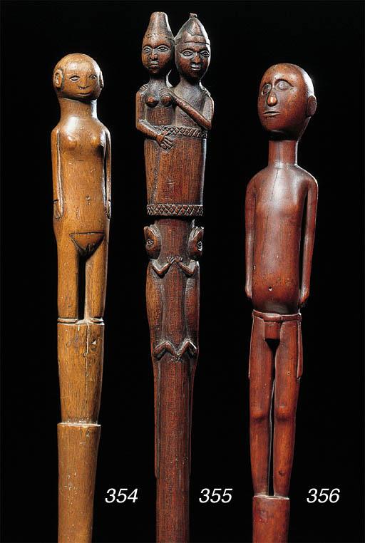 a Kongo staff