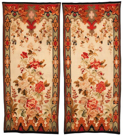 A pair of Napoleon III entre-f