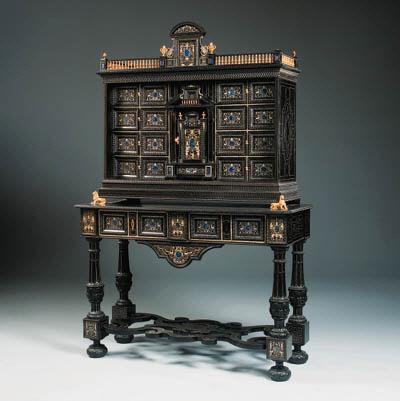 An Italian giltmetal-mounted,