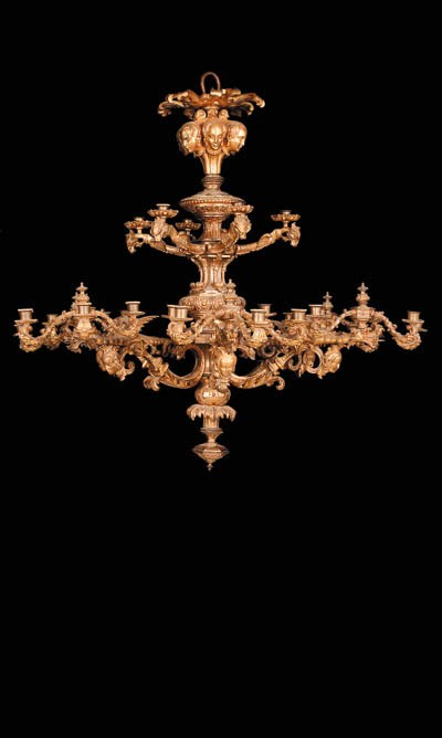 A Louis-Philippe gilt-bronze t