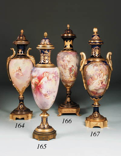A French ormolu-mounted parcel
