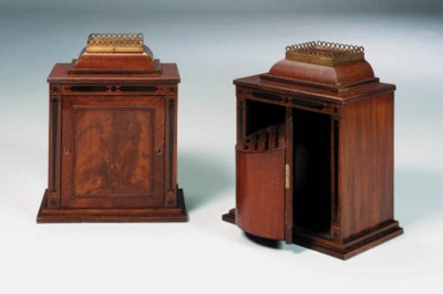 A PAIR OF LATE VICTORIAN 'REGE