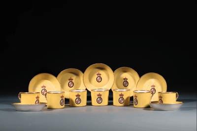 Ten Derby bright-yellow-ground