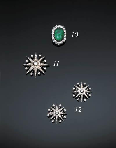 A Victorian Diamond Star Pende