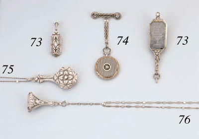A Group Of Five Pendent Watche