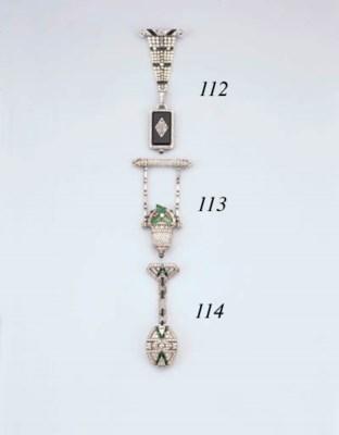 An Art Deco Diamond, Emerald A