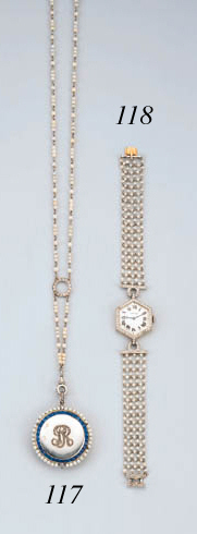 A Belle Epoque Pearl And Sapph