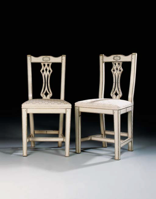 A PAIR OF ANGLO-INDIAN IVORY C
