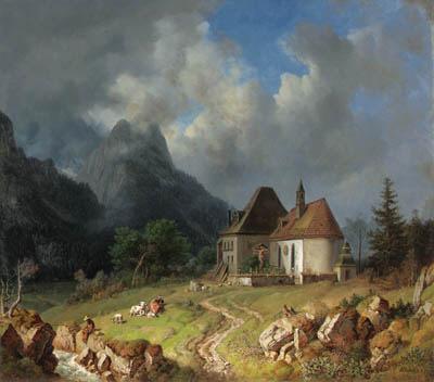 Heinrich Brkel (German, 1802-1