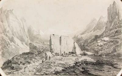Auguste Borget (1809-1877)