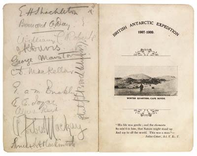 British Antarctic Expedition, 1907-1909