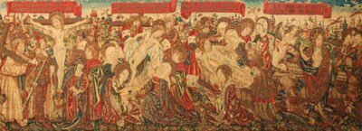 A FRANCO-FLEMISH TAPESTRY OF T
