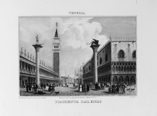 KIER, Giuseppe (publisher and lithographer). Vedute e monumenti classici di Venezia e suoi contorni. Venice: Giuseppe Kier, [c. 1850].