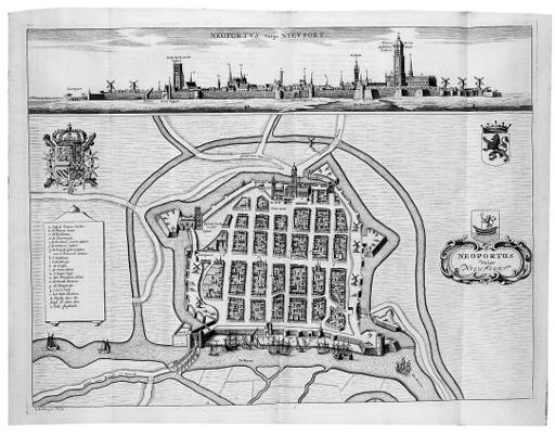 SANDER, Anton. Flandria illustrata, sive provinciae ac comitatus hujus descriptio. The Hague: C. Van Lom, 1732
