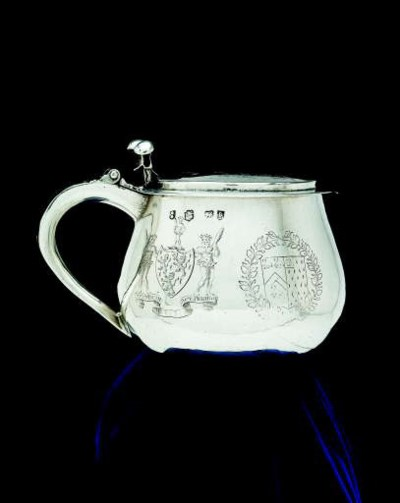 A Charles I silver tankard