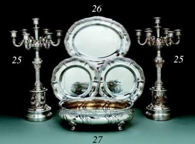 A German silver jardinière