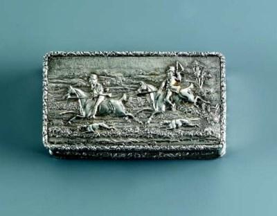 A George IV silver snuff-box