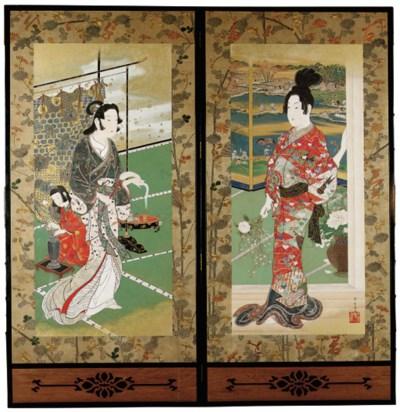 KAWANABE KYOSAI (1831-89), MEI