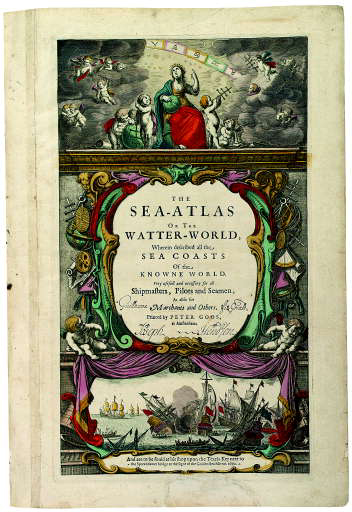 GOOS, Pieter (1615-1675). The Sea-Atlas or the Watter-World, Wherein described all the sea coass of the knowne world. Amsterdam: to be sold at his ship upon the Texel Keey near to the Sparendamer bridge, 1670.