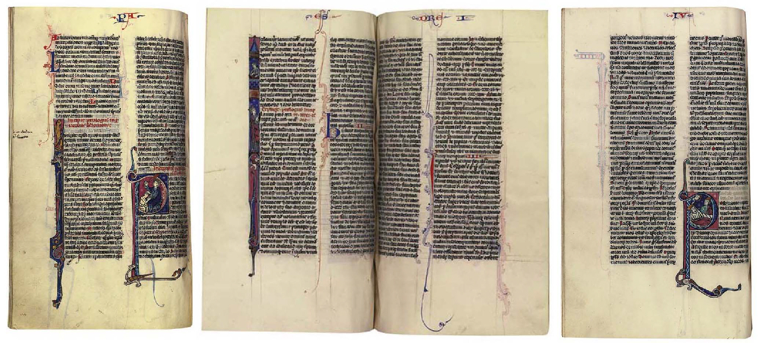 BIBLE with the Prologues attributed to St Jerome and the