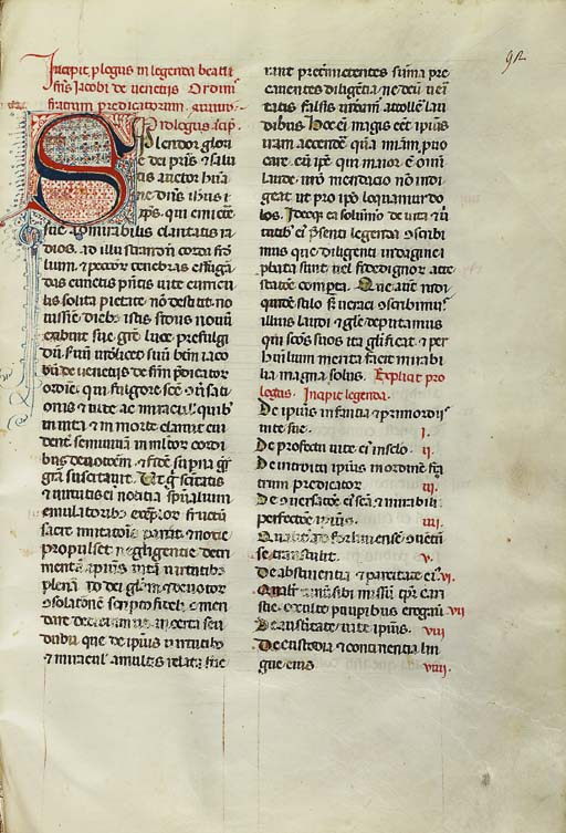 HUBERT DE ROMANIS. Life of St