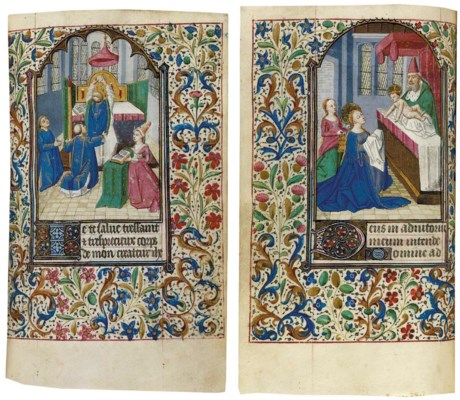 BOOK OF HOURS, use of  Paris,