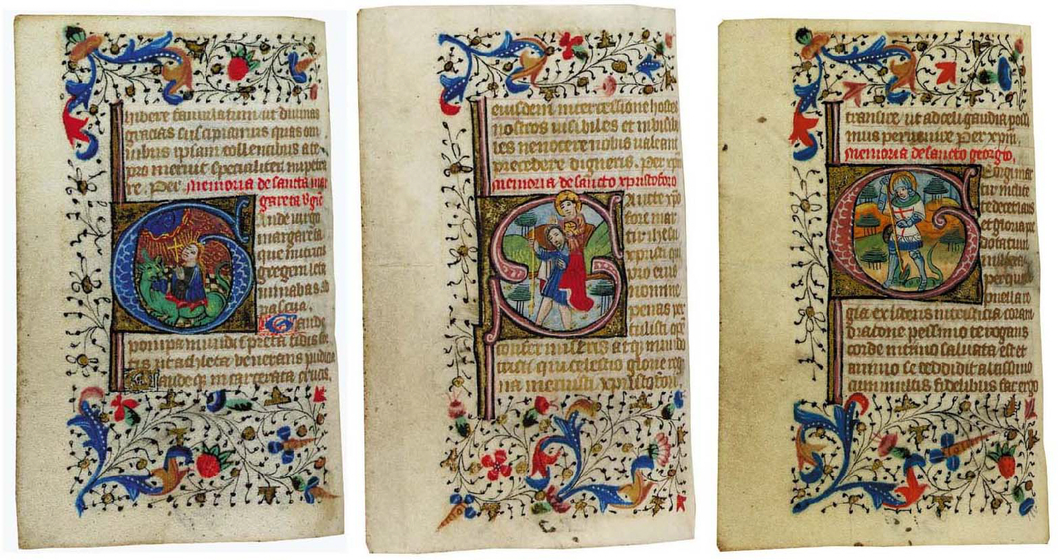 BOOK OF HOURS, use of Sarum in