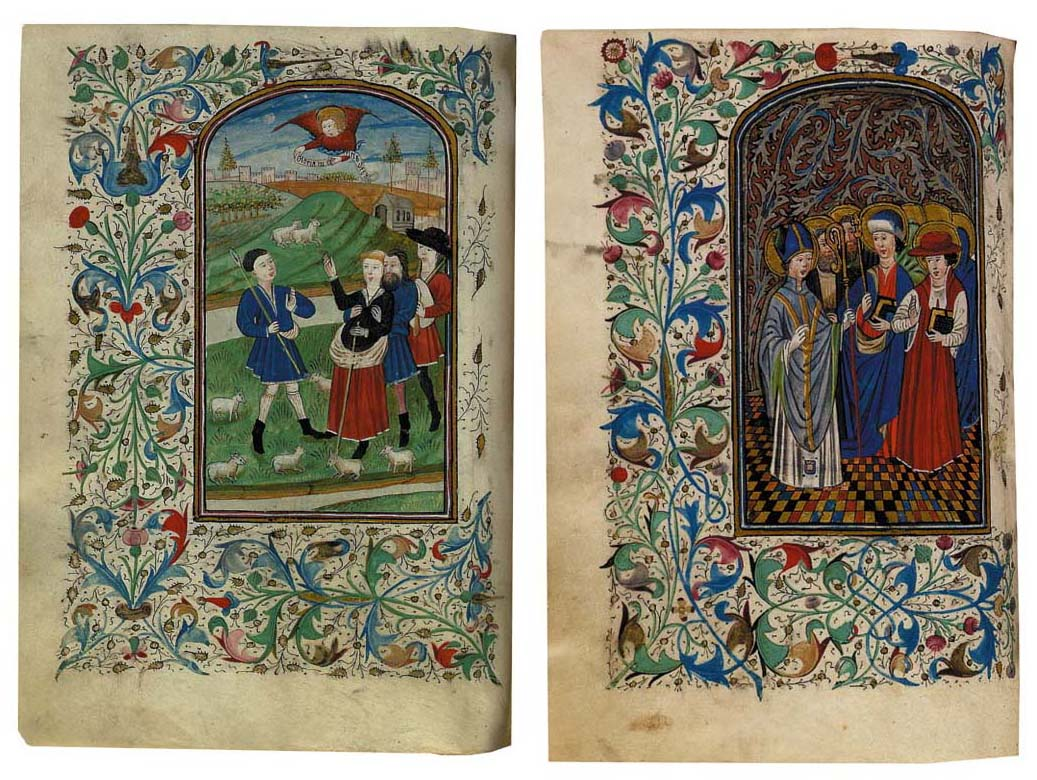 BOOK OF HOURS, use of Rome in