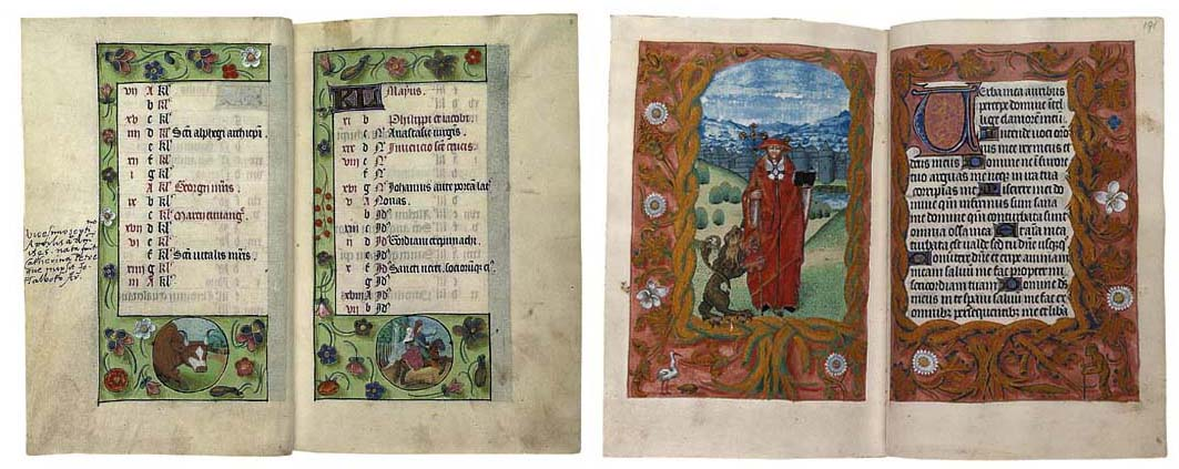 THE KEBLE-PETRE BOOK OF HOURS,