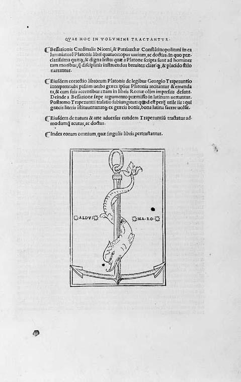BESSARION (Johannes Basilius o