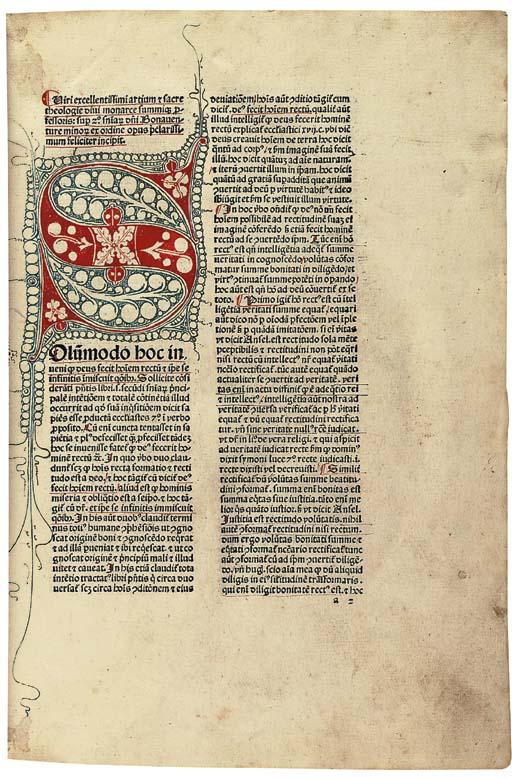 BONAVENTURA (Saint, c.1217-127