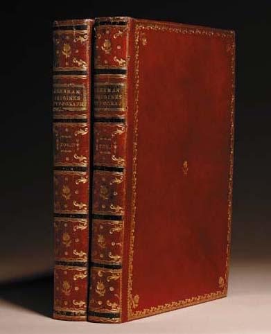 MEERMAN, Gerard (1722-1771). Origines typographicae. The Hague, Paris and London: Nicolaus van Daalen, G.F. De Bure, and Thomas Wilcox, 1765.