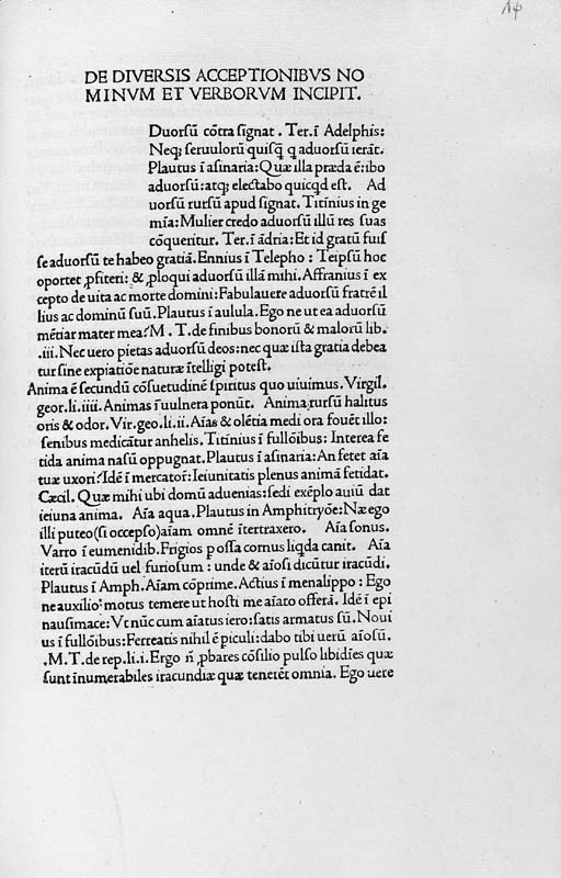 NONIUS, Marcellus (early 4th c