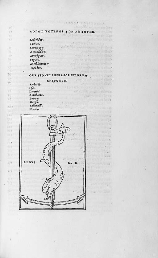 RHETORUM GRAECORUM ORATIONES,