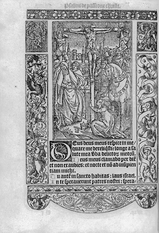 HORAE, use of Sarum, in Latin