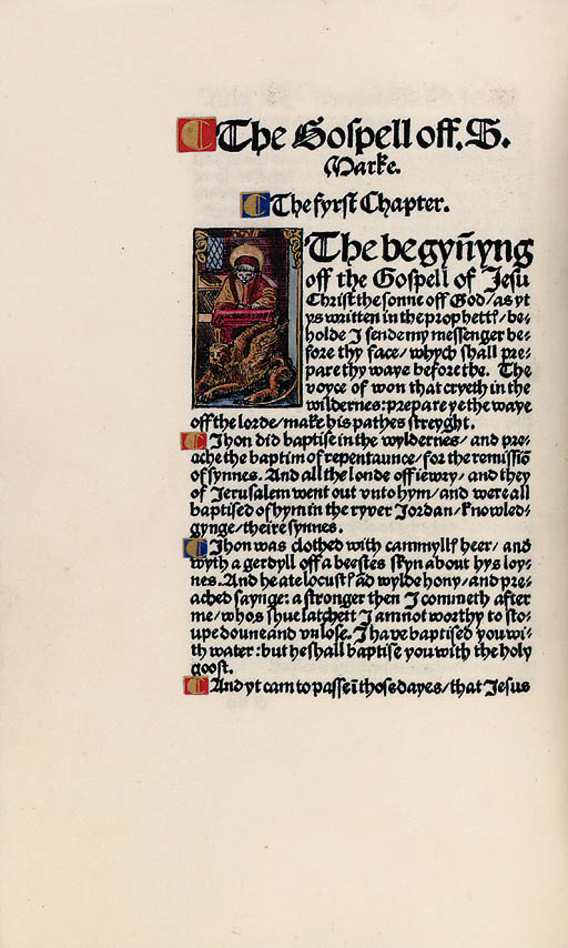 BIBLE, NEW TESTAMENT, in Engli