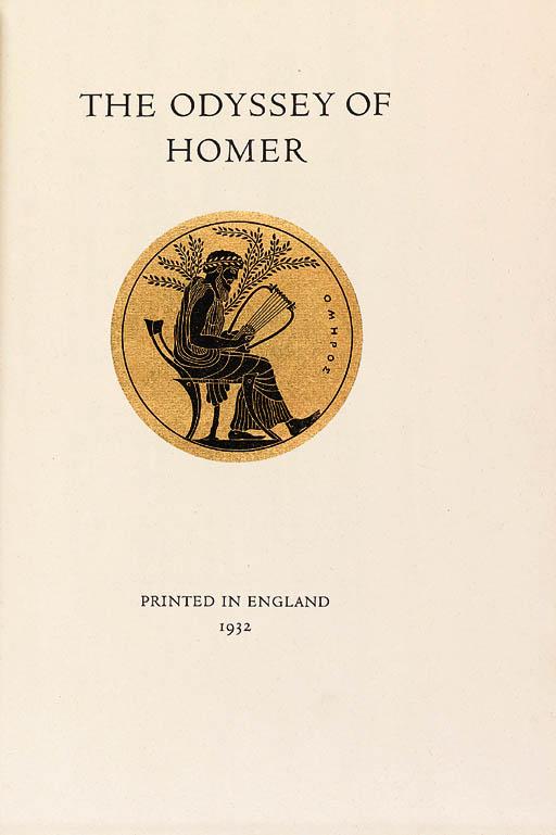 HOMER. The Odyssey. Translated