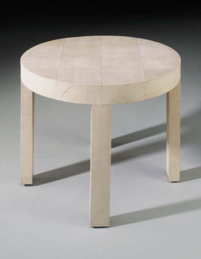A Shagreen Occasional Table