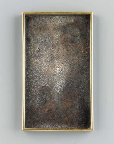A Shagreen Tray